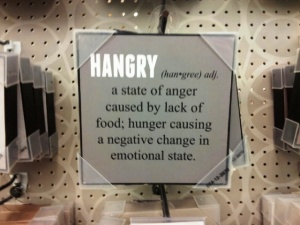 hangry photo