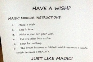 The wish is just the beginning of the magic.